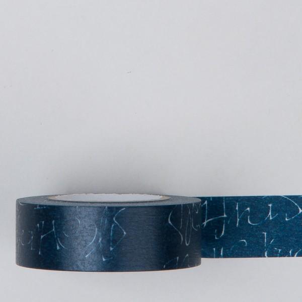 Masking Tape Kuckuck blau