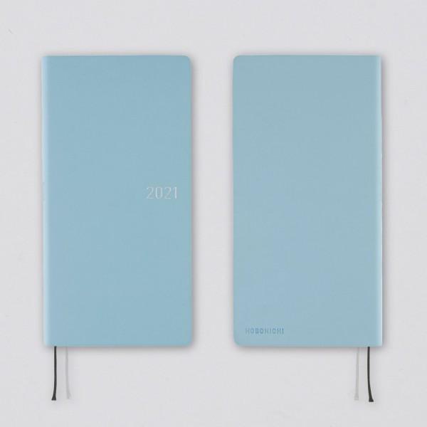 Hobonichi 2021 Kalender Weeks Nuance Sky Blue