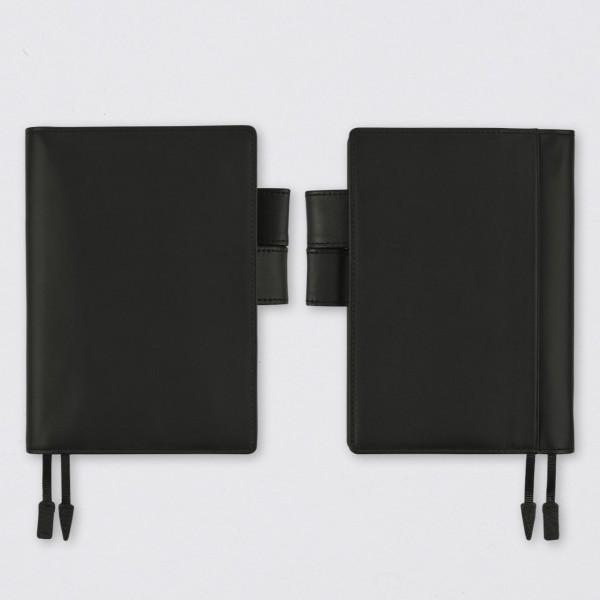 Hobonichi 2022 Techo Kalender A6 Black Leather Set
