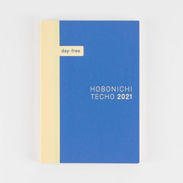 Hobonichi Techo Day-Free Kalender/Notizbuch 2021 (A6)