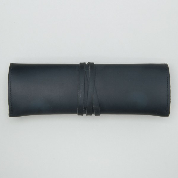 "Papoutsi roll-up pencil case ""Paris"" black ""High Chaparral"""