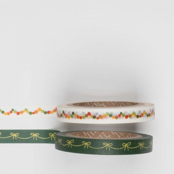 Masking Tape 2er Set garland