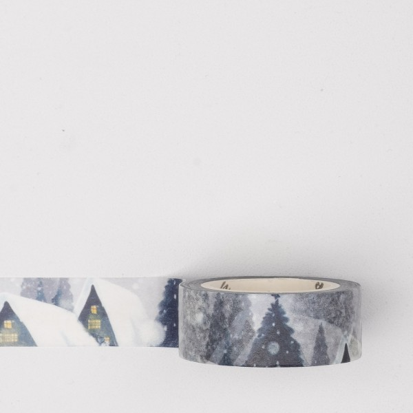 Masking Tape spt021 snow village