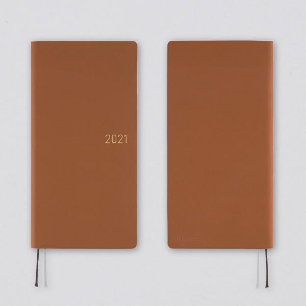 Hobonichi 2021 Kalender Weeks Nuance Milk Chocolate