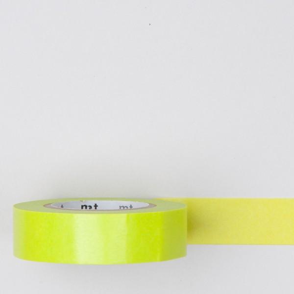 Masking Tape einfarbig neon gelb