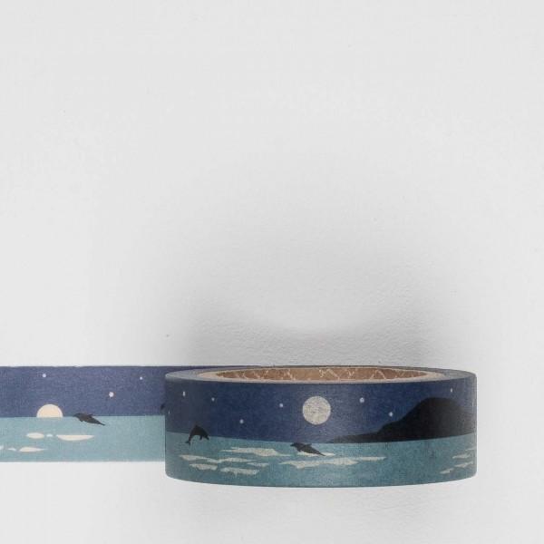 Dailylike Masking Tape 119 night sea