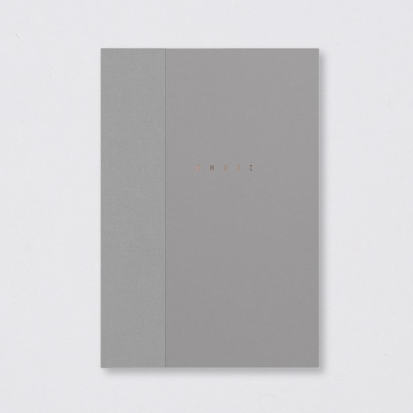 Polnischer Kalender 2021 Klasyk grey (A5)