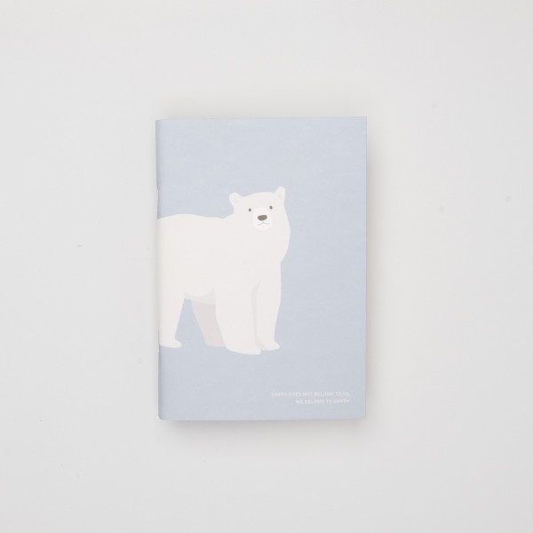 "Gongjang Heft ""Save Me File Note"" Polar Bear"