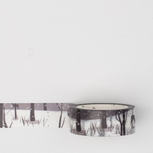Masking Tape sptf023 winter forest
