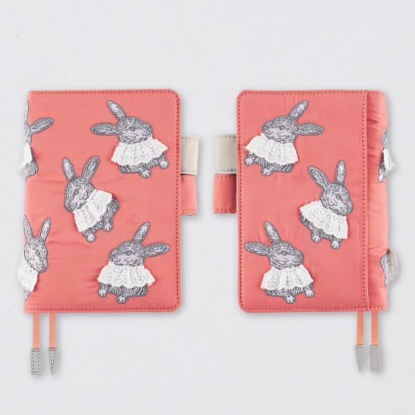 Hobonichi 2022 Techo Kalender A6 Candy Stripper: Sweet Bunny set