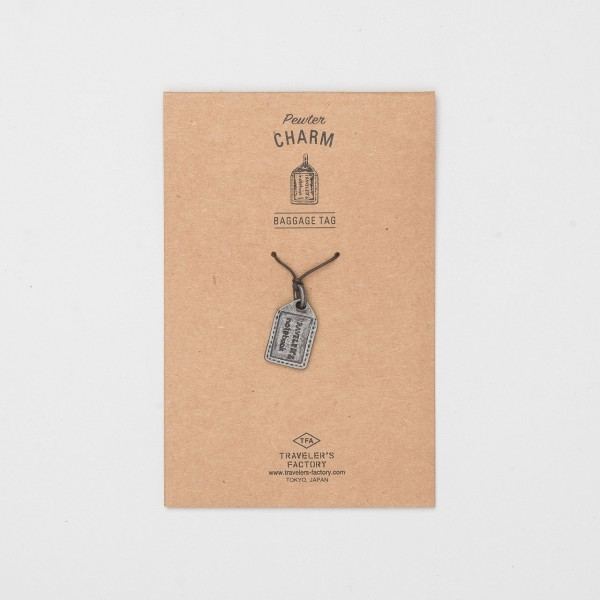 "STORE ONLY: Traveler's Factory Anhänger ""Baggage Tag"" Charm"