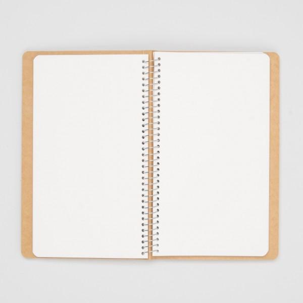 Midori Spiralringbuch MD Paper A5 Slim