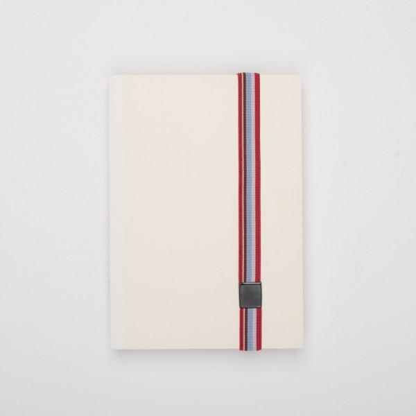 Lion elastisches Verschlussband für Notizbücher bunt gestreift