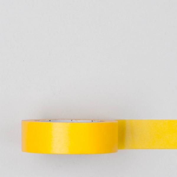 Masking Tape einfarbig gelb