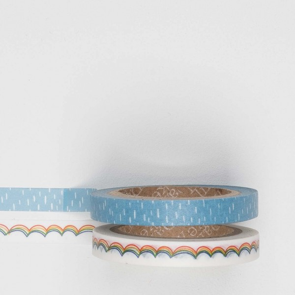 Masking Tape 2er Set rainbow