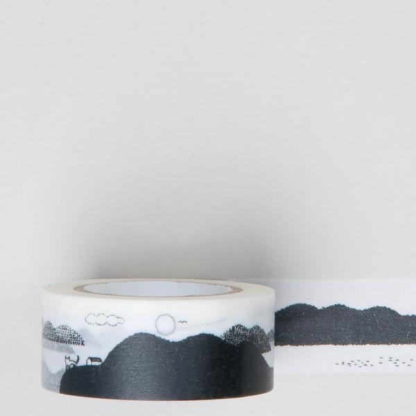 """Masking Tape """"Landschaft"""""""
