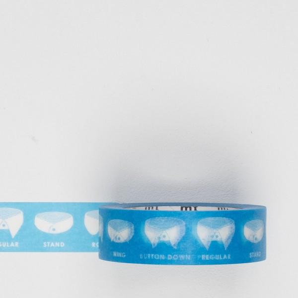 Masking Tape Hemdkragen