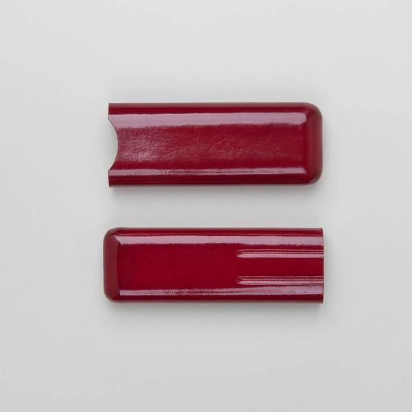 Stifteetui aus Leder in rot