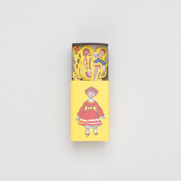 """japanisches Mini-Kistchen mit Klebemotiven """"im Park"""""""