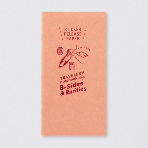 "TRC ""B-Sides & Rarities"" Regular Trägerpapier für Aufkleber-Copy"