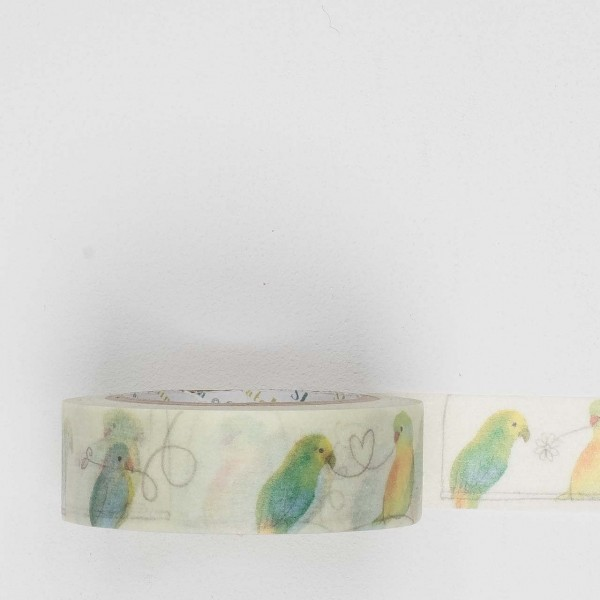 Masking Tape 10187 bird love