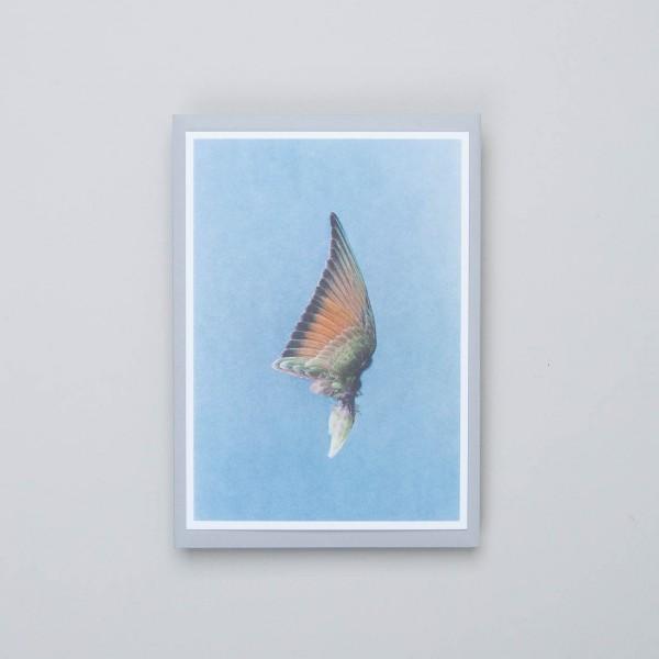 "Siebdruckkarte ""Flügel 3"""