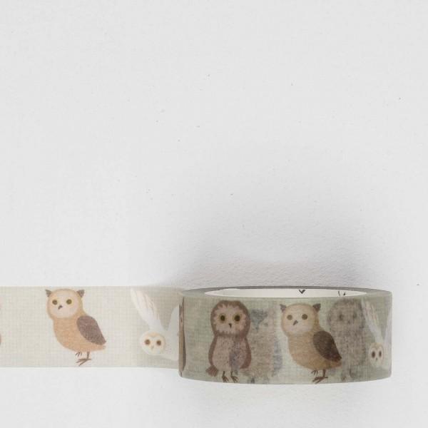 Masking Tape la024 owls