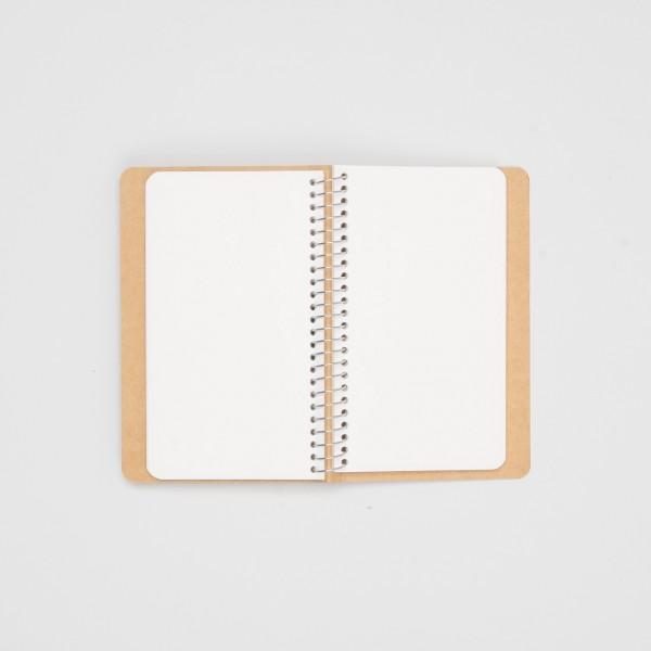 Midori Spiralringbuch Polar Bear A6 Slim