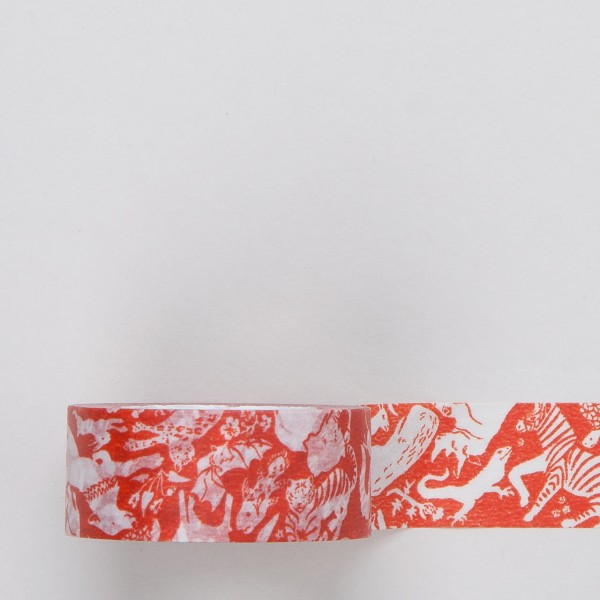 "Masking Tape ""Freund"" orange"