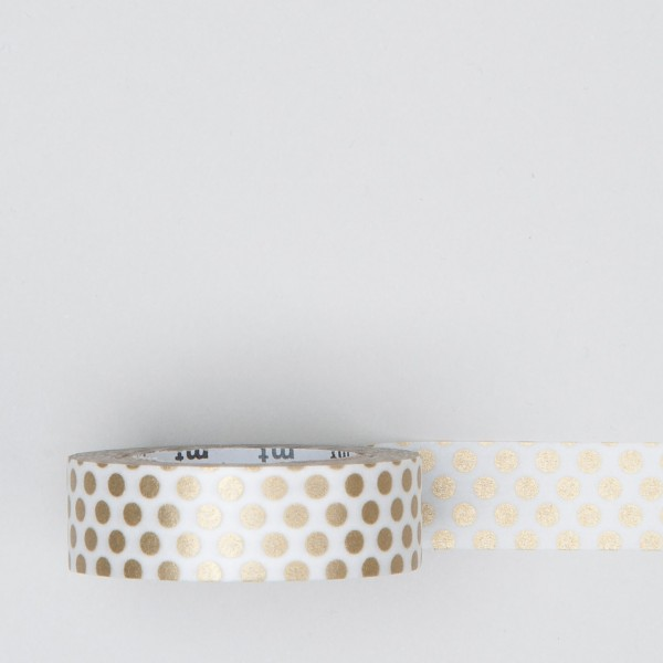 "Masking Tape ""Dot"" gold"