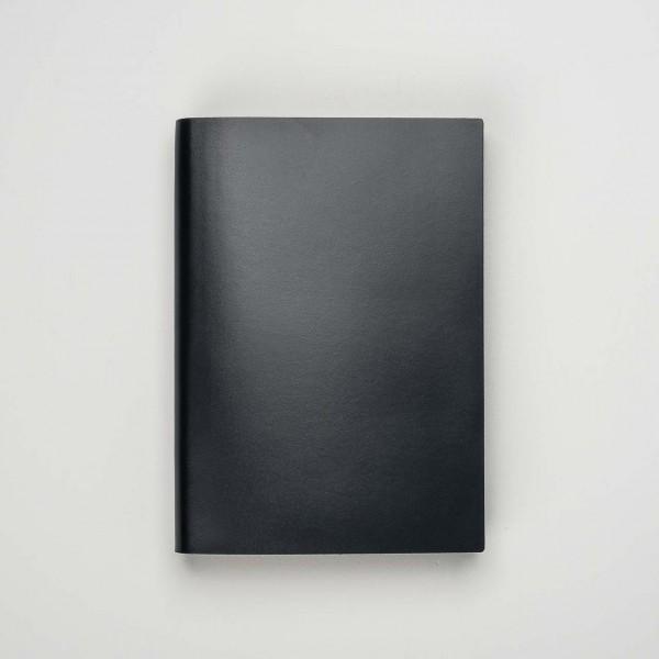 Pinetti Notizbuch A4 Kalbsleder schwarz