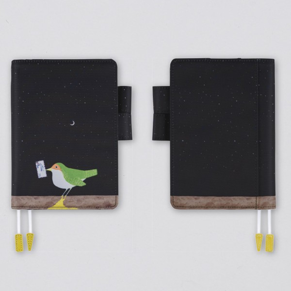 Hobonichi Techo 2021 Kalender A6 Makoto Wada Time-Traveling Bird Set