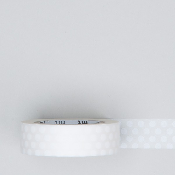 "Masking Tape ""Dot"" white"