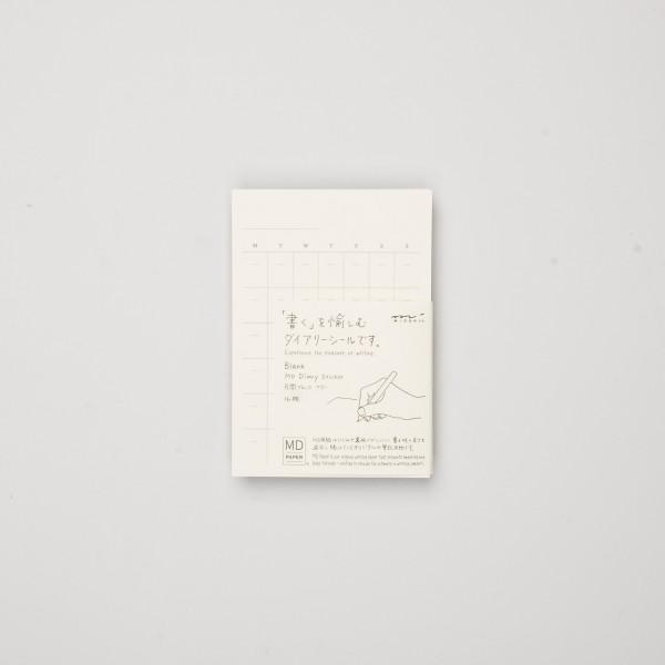 Midori MD Diary Sticker Free