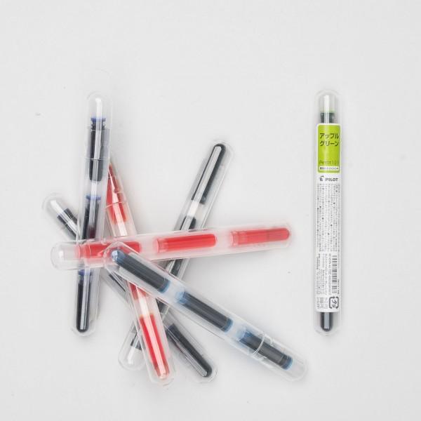 Pilot ink cartridges for Petit fountain pens (3 pcs)