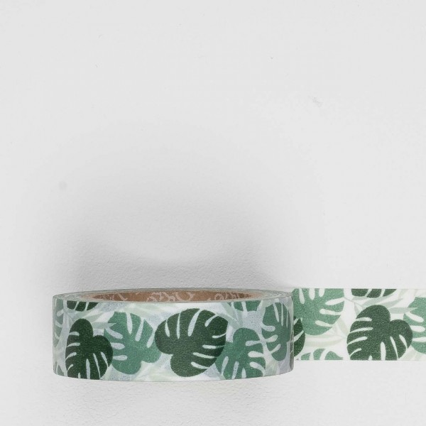 Dailylike Masking Tape 102 monstera