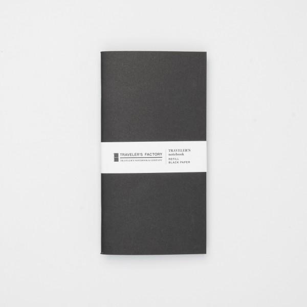 Traveler's Factory Einlage Regular Kraftpapier schwarz