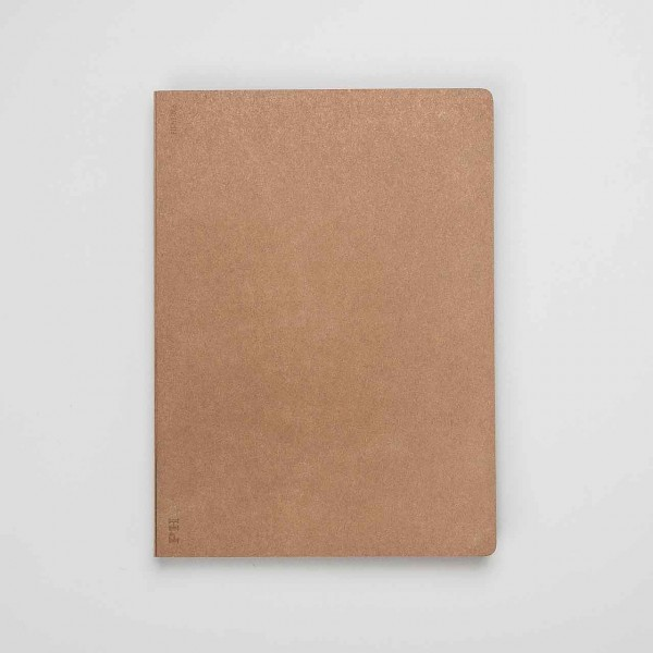 jap. Notizbuch PH bronze B5