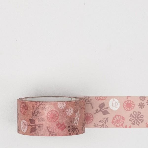 """Masking Tape """"Garden"""" rose"""