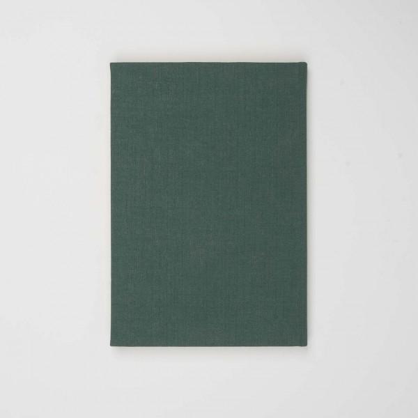 Berliner Notizbuch aus Leinen grün (A5)