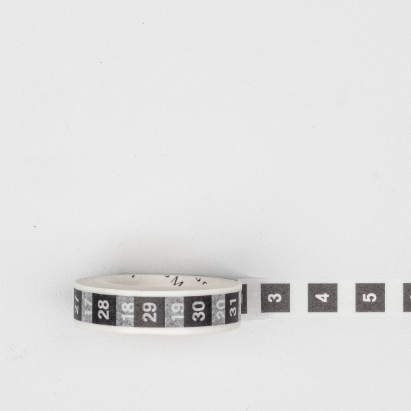 "Masking Tape ""Days-Month"""