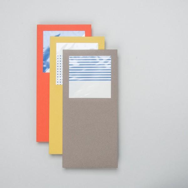 japanisches Umschlagset quadratisches Fenster