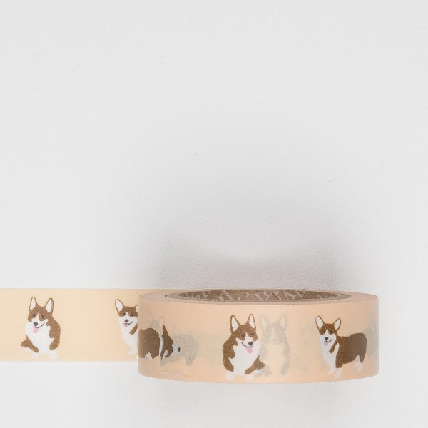 Dailylike Masking Tape 72 welsh corgi