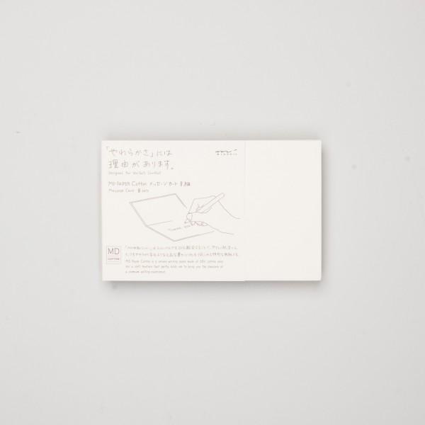 Midori MD Message Card Cotton (8 St.)