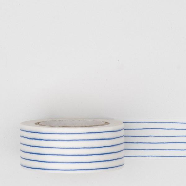 "Masking Tape ""Mitsou Stripe"" blau"