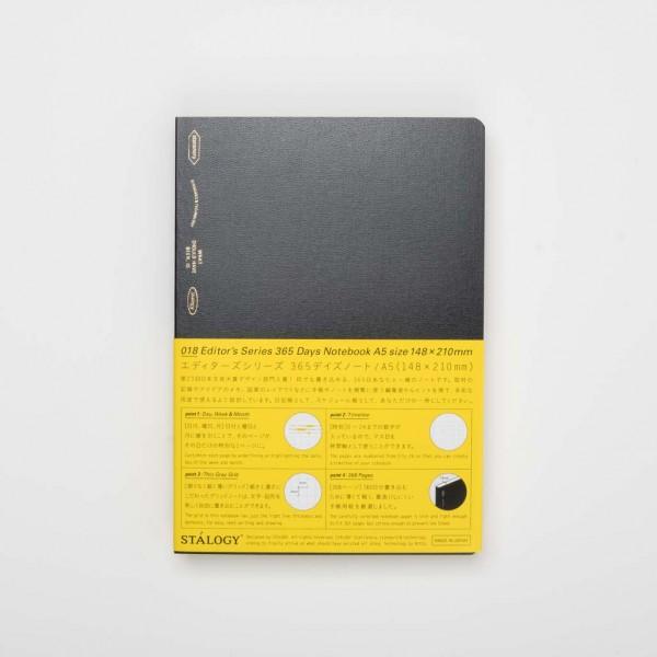 Stalogy Notizbuch 018 Editor's Series 365 Tage A5 1