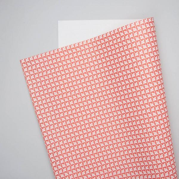 """Esme Winter Geschenkpapier """"Corb"""" in rot"""