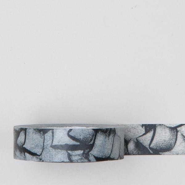 "Masking Tape ""Kratzer"" schwarz grau"