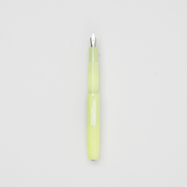 "Kaweco ""Frosted Sport"" fountain pen fine lime"
