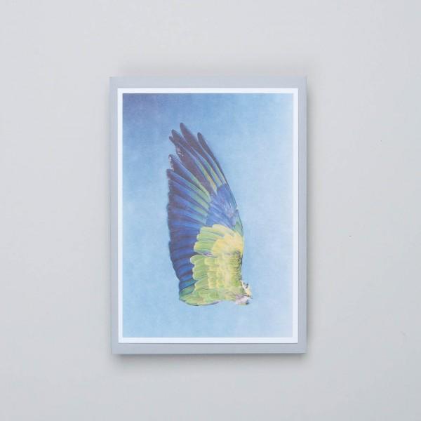 "Siebdruckkarte ""Flügel 8"""